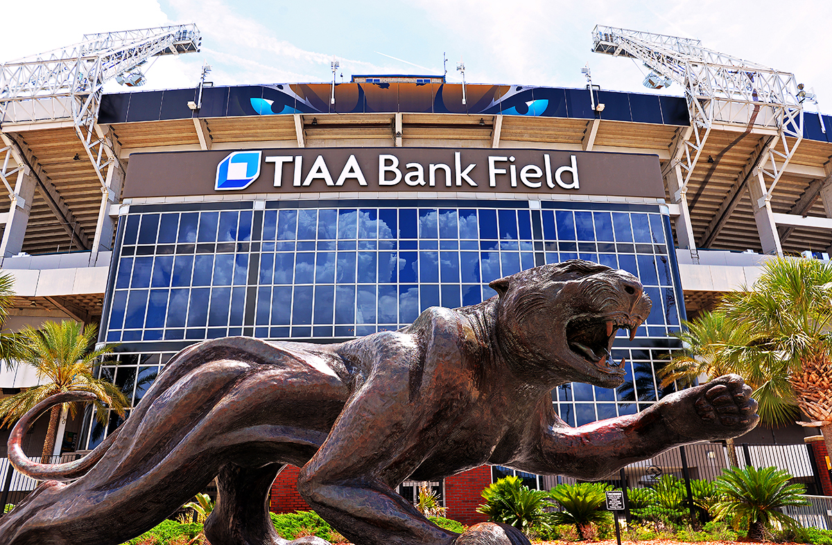 The Jacksonville Jaguars of the National Football League, are adopting the system for use at their home stadium of TIAA Bank Field in Jacksonville, Fla.