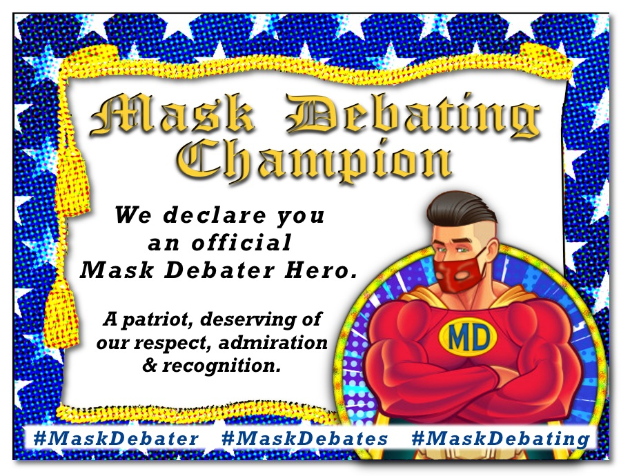 Mask Debater Award Web