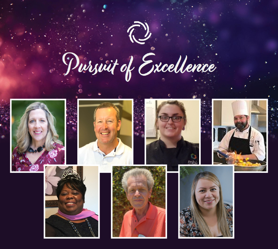 MBK Senior Living's Pursuit of Excellence Winners
