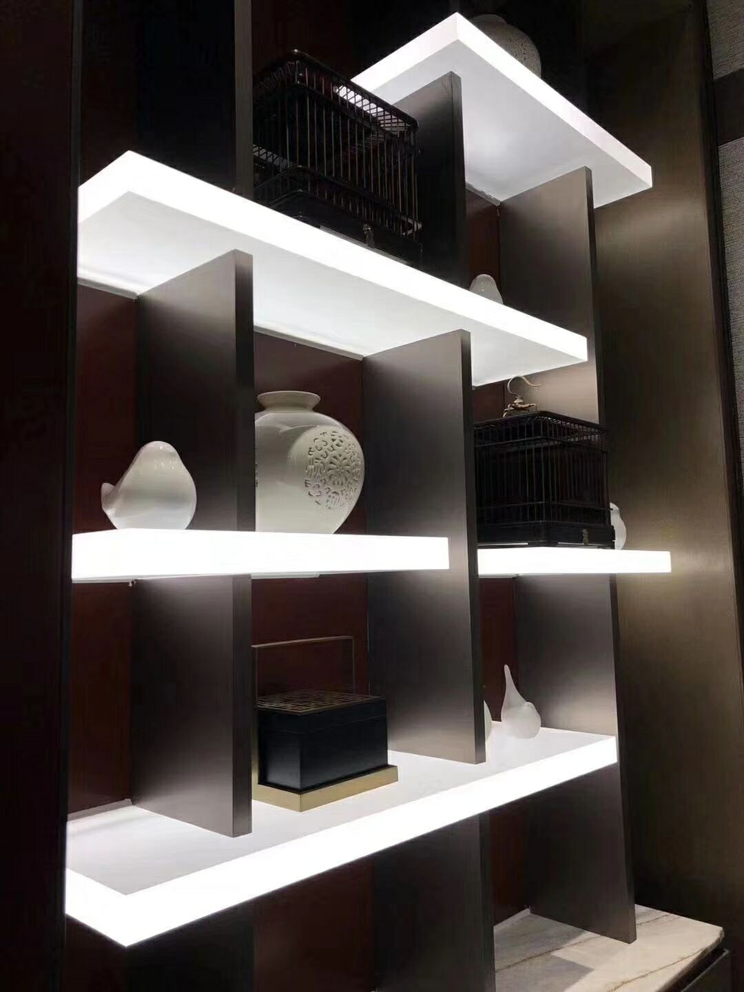 Shelf LED Backlit Panel