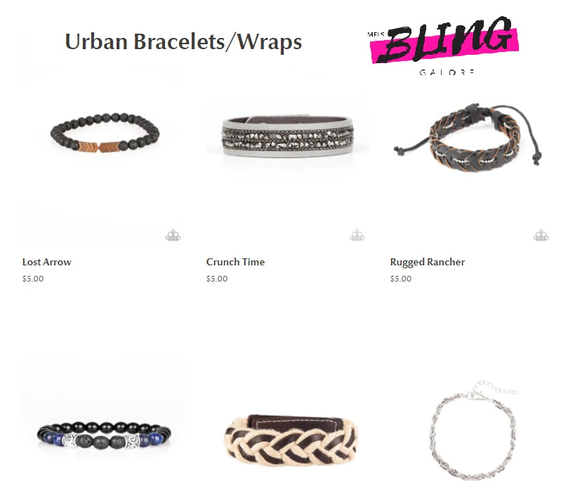 Urban Bracelets Mels Bling Galore